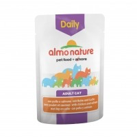 Sachet fraicheur pour chat - ALMO NATURE Daily Adult - Lot 30 x 70g