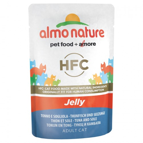 Alimentation pour chat - Almo Nature HFC Jelly - 24 x 55 g pour chats