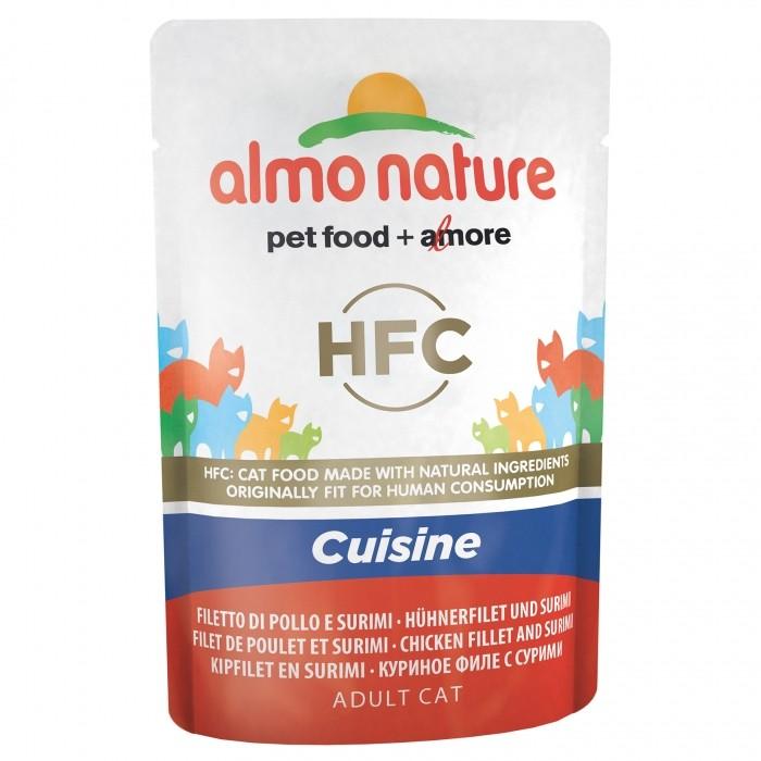 Alimentation pour chat - Almo Nature HFC Cuisine - 24 x 55g pour chats