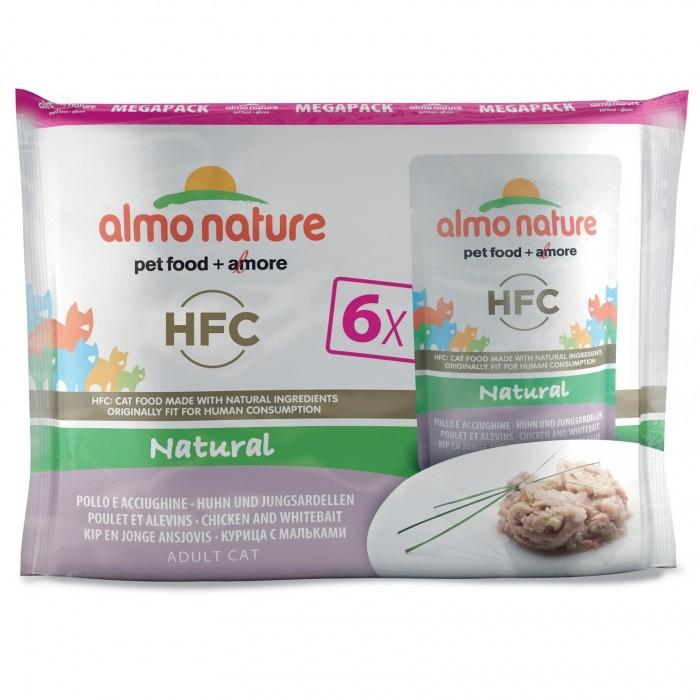 Alimentation pour chat - Almo Nature HFC Natural - 6 x 55 g pour chats