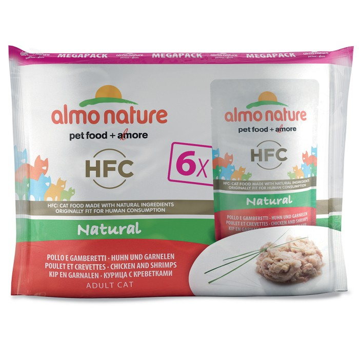 Alimentation pour chat - Almo Nature HFC Natural - Lot pour chats