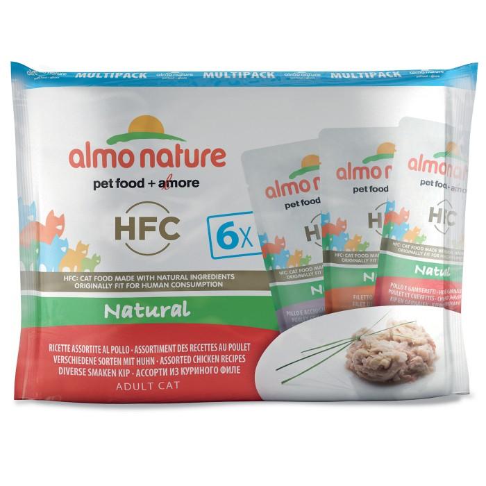 Alimentation pour chat - Almo Nature HFC Natural - Lot 6 x 55 g pour chats