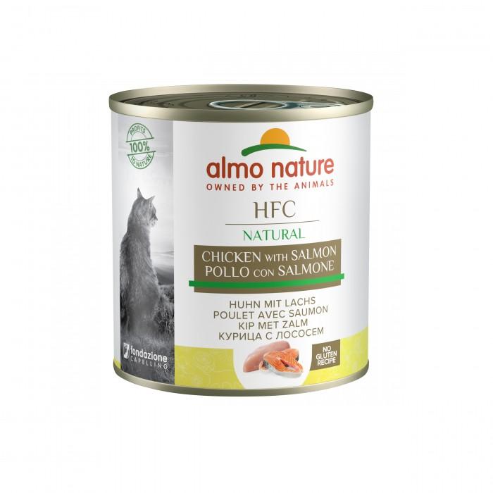 Alimentation pour chat - Almo Nature HFC Natural - Lot 12 x 280 g pour chats