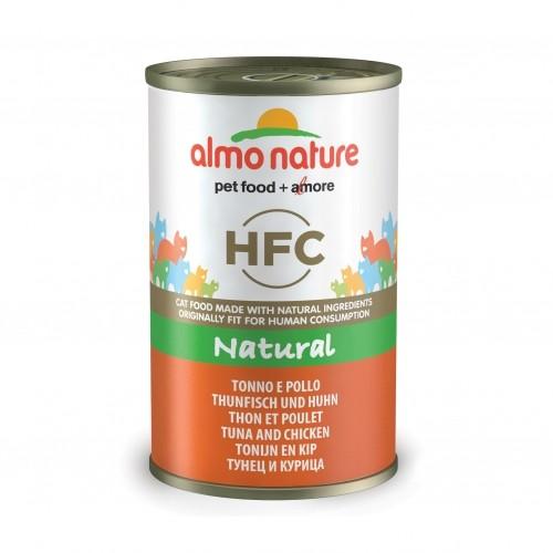 Alimentation pour chat - Almo Nature HFC Natural - Lot 24 x 140g pour chats
