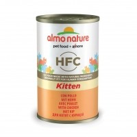 Pâtée en boîte pour chaton - ALMO NATURE HFC Kitten - Lot 24 x 140 g