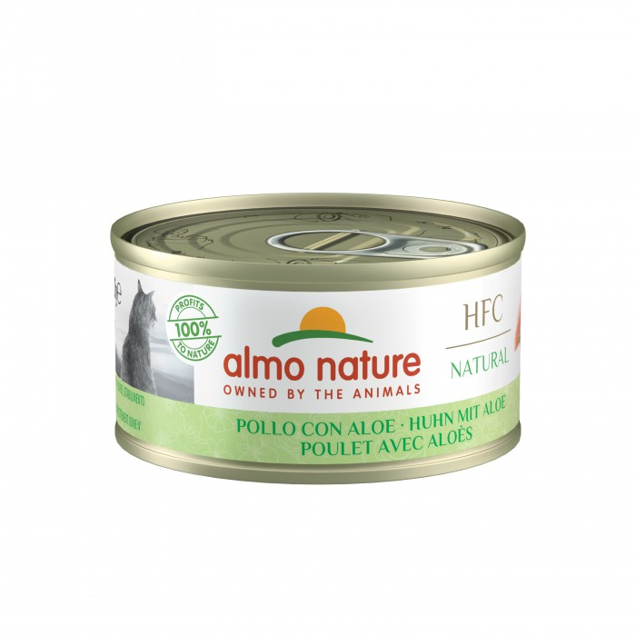 Alimentation pour chat - Almo Nature HFC Light - 24 x 70 g pour chats