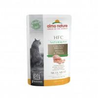 Sachet fraîcheur pour chat - Almo Nature HFC Natural+ - Lot 24 x 55 g