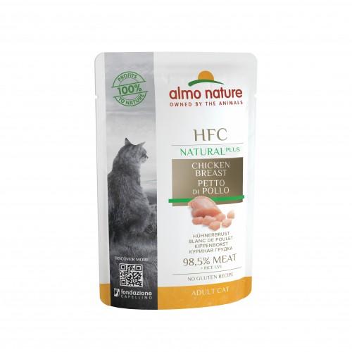 Alimentation pour chat - Almo Nature HFC Natural+ - Lot 24 x 55 g pour chats