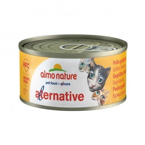 Pâtée en boîte pour chat - ALMO NATURE HFC Alternative - 24 x 70g