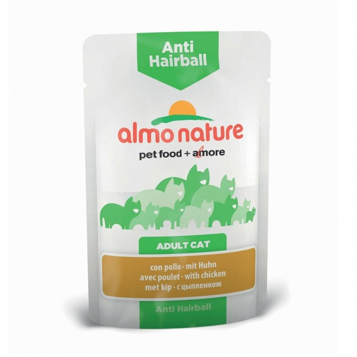 Alimentation pour chat - Almo Nature Holistic Fonctionnel Anti Hairball - 30 x 70 g pour chats