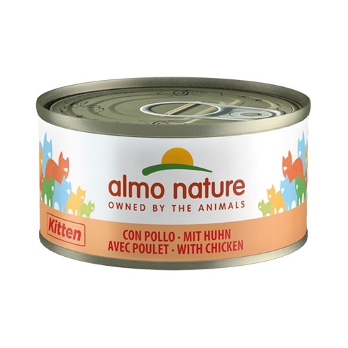 Alimentation pour chat - Almo Nature Kitten - 6 x 70 g pour chats