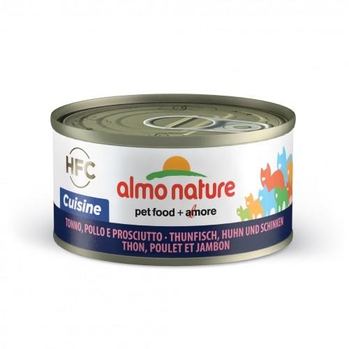 Alimentation pour chat - Almo Nature HFC Cuisine - Lot 5 x 70g pour chats