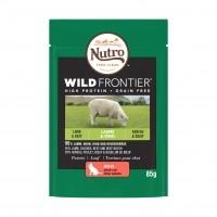 Sahet fraîcheur pour chat - Nutro Wild Frontier Adulte - 24 x 85 g Wild Frontier Adulte - 24 x 85 g