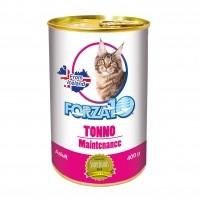 Pâtée en boîte pour chat - FORZA 10 Maintenance - Lot 3 x 400g