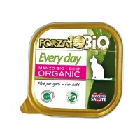 Pâtée en barquette pour chat - FORZA 10 EveryDay Adult Bio - Lot 6 x 100g