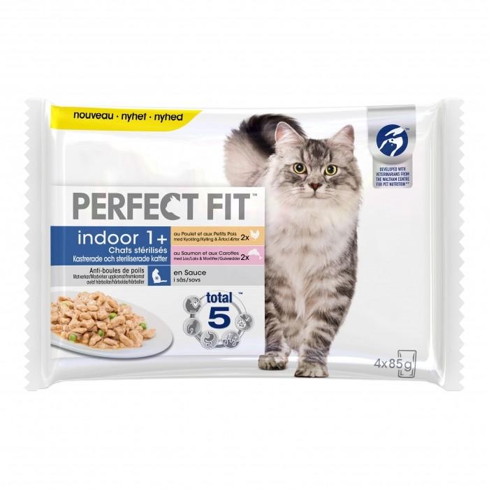 Alimentation pour chat - PERFECT FIT Indoor 1+ chats stérilisés pour chats