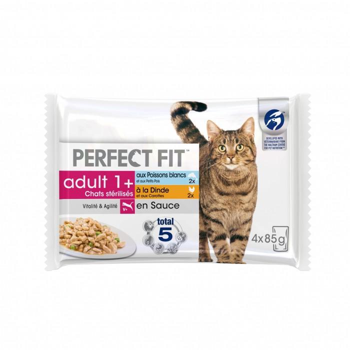 Alimentation pour chat - PERFECT FIT Adult 1+ chats stérilisés pour chats