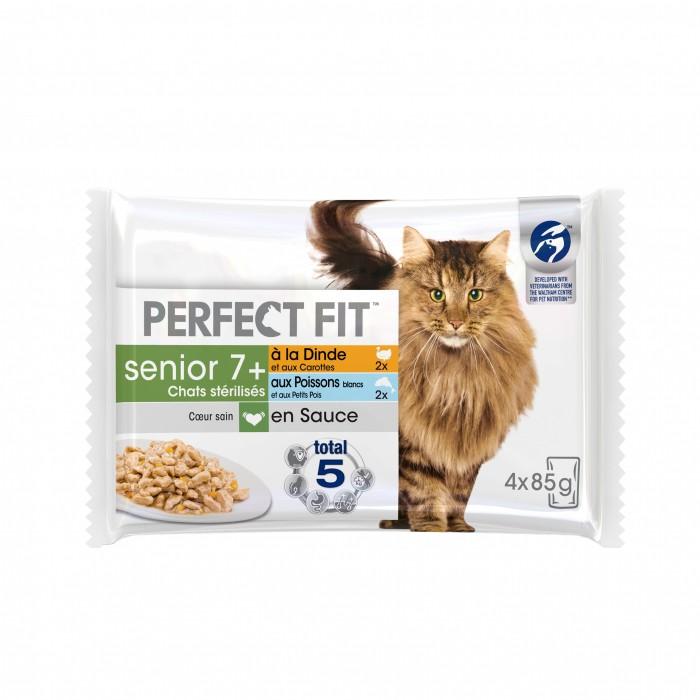Alimentation pour chat - PERFECT FIT Senior 7+ Chats Stérilisés pour chats