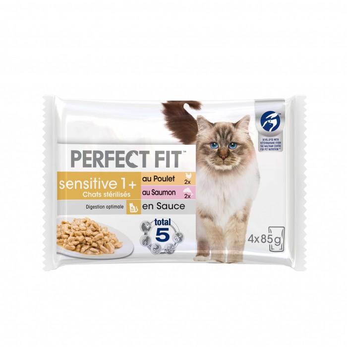 Alimentation pour chat - PERFECT FIT Sensitive 1+ chats stérilisés pour chats