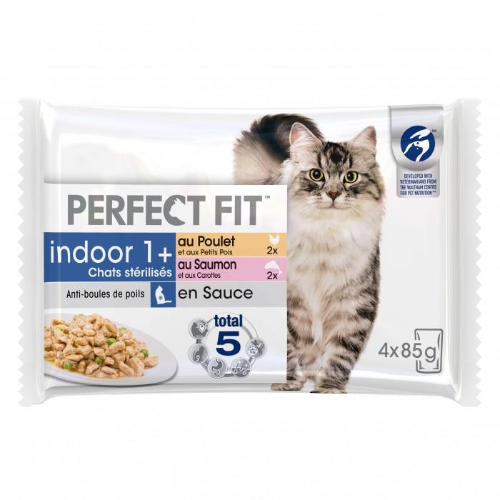 PERFECT FIT Indoor 1+ chats stérilisés-Indoor 1+ chats stérilisés