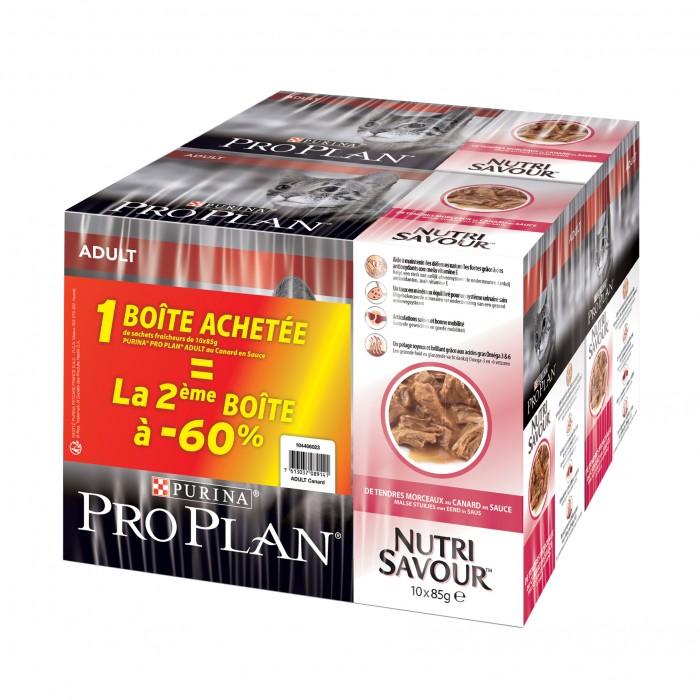 Proplan Nutrisavour Adult en sauce-Nutrisavour Adult en sauce