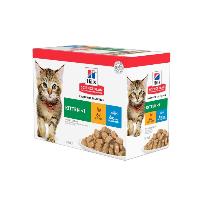 Alimentation pour chat - Hill's Science plan Kitten pour chats