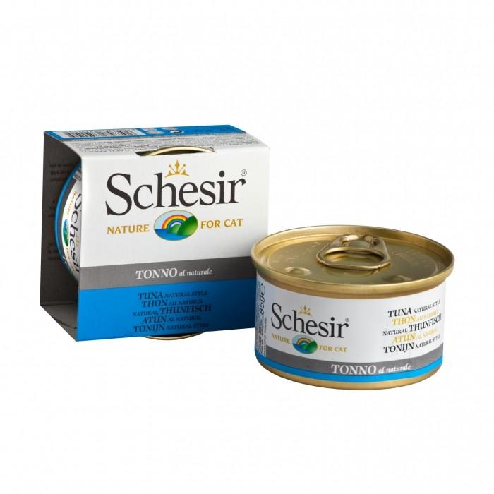 Alimentation pour chat - Schesir Pâtée Adult - Lot 14 x 85g pour chats