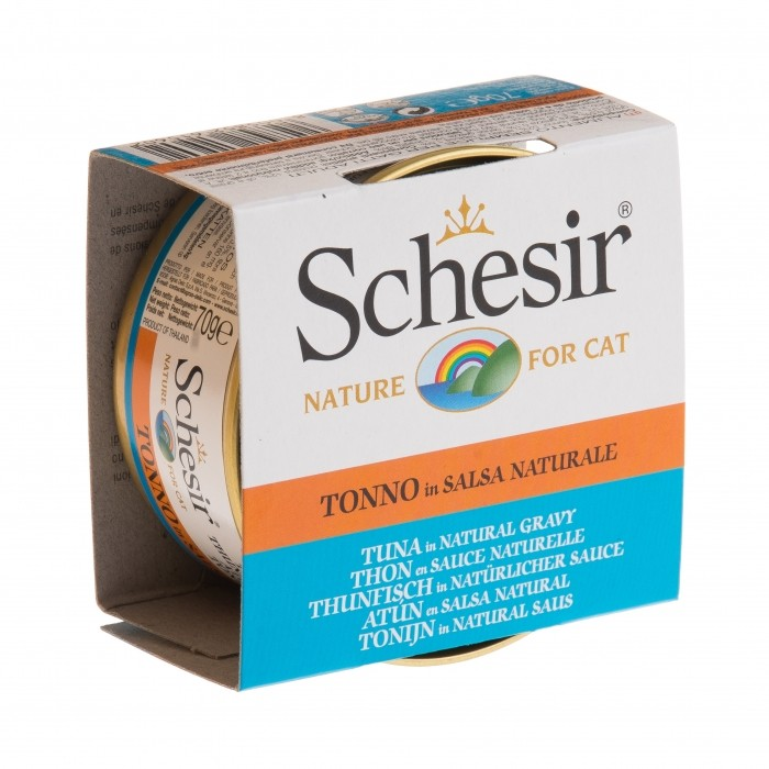 Alimentation pour chat - Schesir Pâtée en sauce Adult - 14 x 70 g pour chats