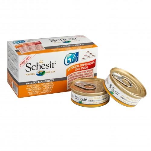 Alimentation pour chat - Schesir Gelée Adult - Lot 6 x 50 g pour chats