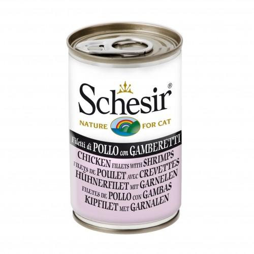 Alimentation pour chat - Schesir Pâtée en gelée Adult - Lot 24 x 140g pour chats