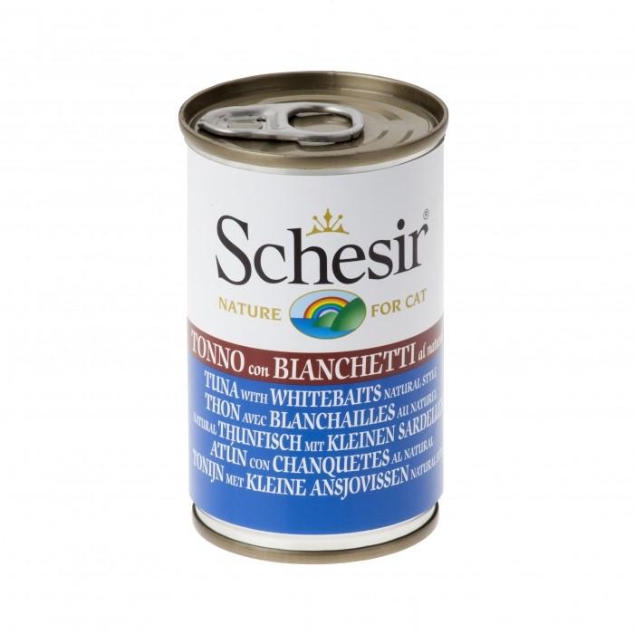 Alimentation pour chat - Schesir Pâtée Adult - Lot 24 x 140g pour chats