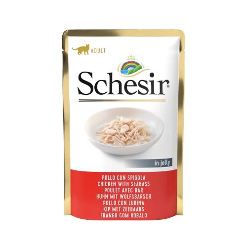Alimentation pour chat - Schesir Multipack Pâtée en gelé Adult - Lot 6 x 85 g pour chats