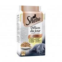 Sachet fraîcheur pour chat - SHEBA Délices du jour Délices du jour
