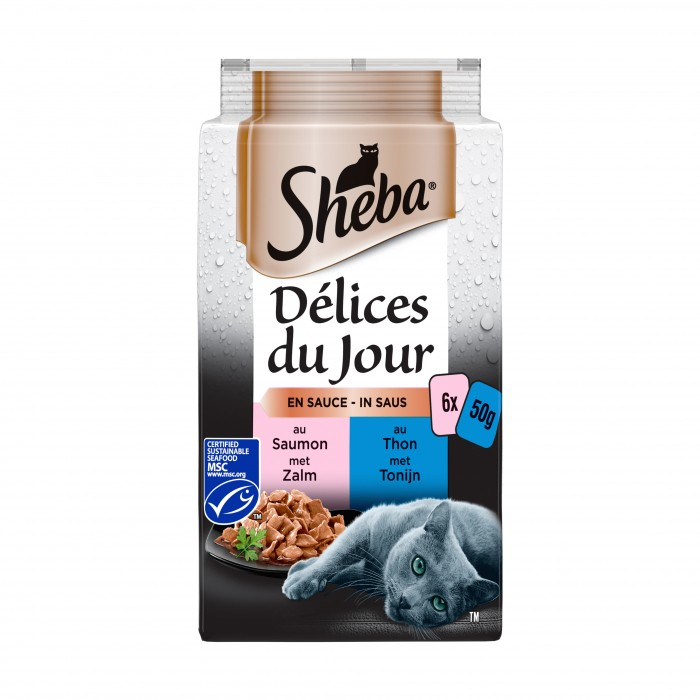 Alimentation pour chat - SHEBA Délices du jour pour chats