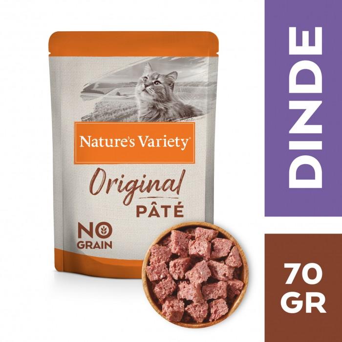 Alimentation pour chat - Nature's Variety Original No Grain Adult  pour chats