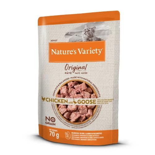 Alimentation pour chat - Nature's Variety Original No Grain Adult - Multipack 12 x 70 g pour chats