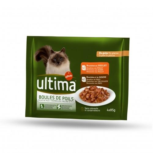 Alimentation pour chat - Ultima Contrôle des boules de poils pour chats