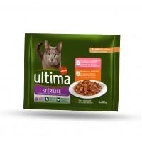 Pâtée en sachet pour chat - Ultima Chats stérilisés Chats stérilisés