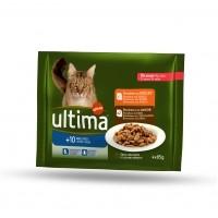 Pâtée en sachet pour chat - Ultima + 10 ans