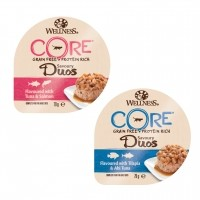 Pâtée en barquette pour chat - Wellness CORE Savoury Duos - 6 x 79 g Savoury Duos - 6 x 79 g