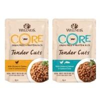 Pâtée en sachet pour chat - Wellness CORE Tender Cuts - 6 x 85 g Tender Cuts - 6 x 85 g