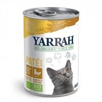 Pâtée en boîte pour chat - Yarrah Pâtée biologique en boîte - Lot de 12 x 400g