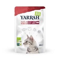 Sachet fraicheur pour chat - Yarrah Filets en sauce - 14 x 85 g Yarrah
