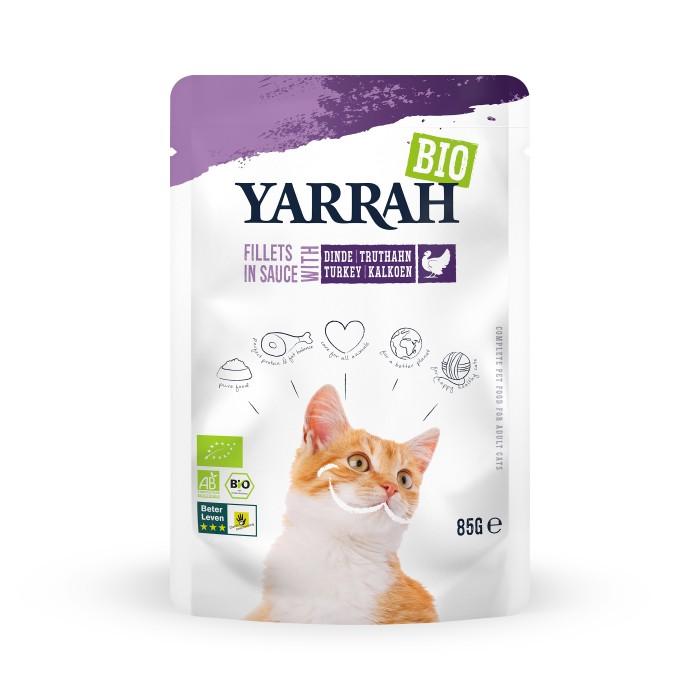 Alimentation pour chat - Yarrah Filets en sauce - 14 x 85 g pour chats