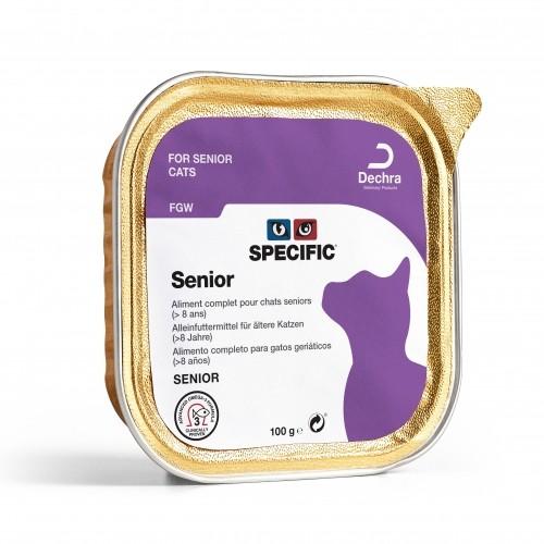 Alimentation pour chat - SPECIFIC Senior FGW - Lot 7 x 100g pour chats
