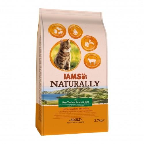 Alimentation pour chat - IAMS Naturally Adulte - Agneau Nouvelle Zélande pour chats