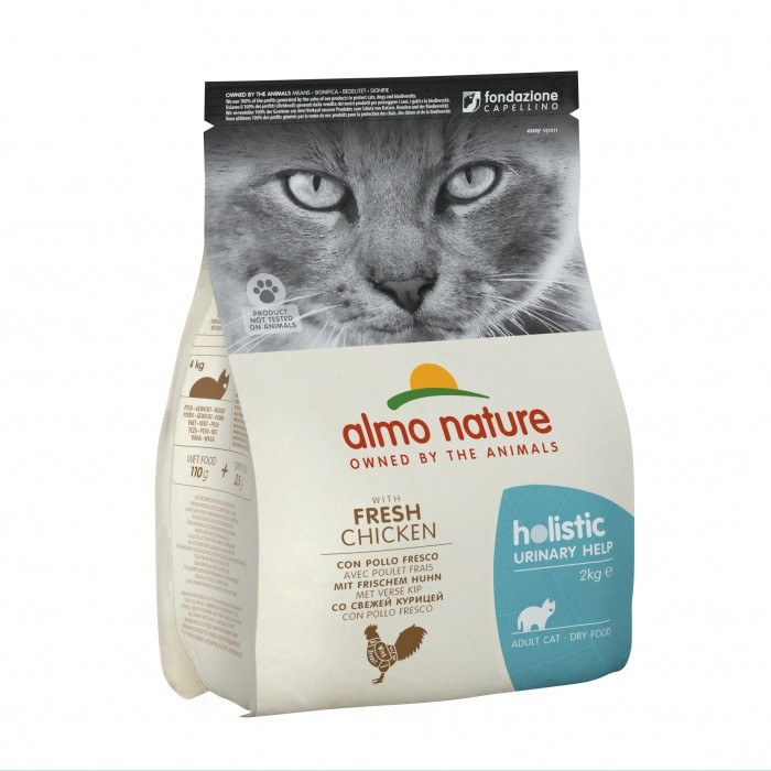 Alimentation pour chat - Almo Nature Holistic Urinary help pour chats