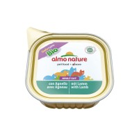 Pâtée en barquette pour chat - ALMO NATURE Daily Menu Bio - Lot 32 x 100g