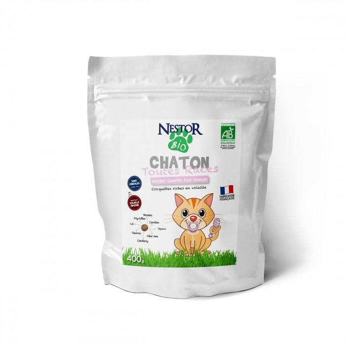 Alimentation pour chat - Nestor Bio Chaton Toutes Races pour chats