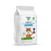 Croquettes pour chat - Nestor Bio Adulte Stérilisé Allégé Sans Céréales